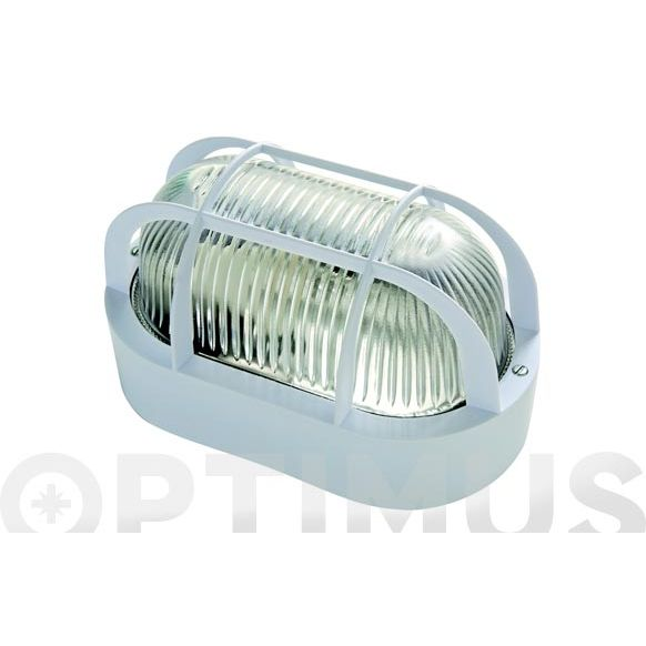APLIQUE OVAL BLANCO 60W