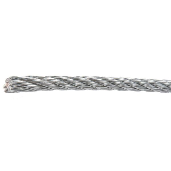 CABLE ACERO INOX.AISI-316 7X7+0 5MMX100M