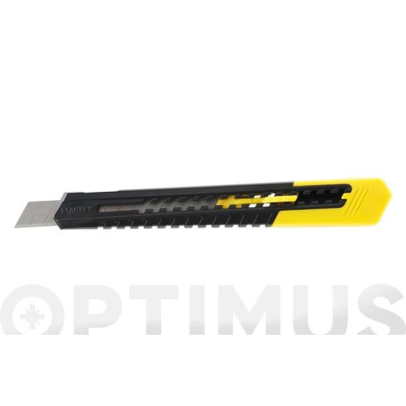 CUTTER PLASTICO SM HOJA RETRACTIL 9 MM