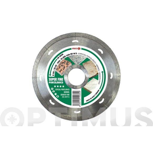 DISCO DIAM SUPER FINE PORCELA WSFP115