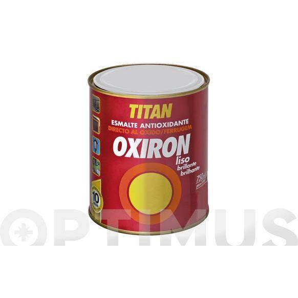 ESMALTE LISO OXIRON 375 ML BLANCO