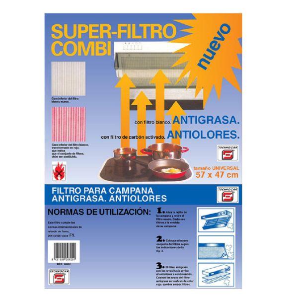 FILTRO COMBI CAMPANA ANTIGRASA 57X47