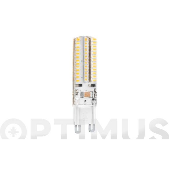 LAMPARA SILICONA LED G9 5W LUZ CALIDA