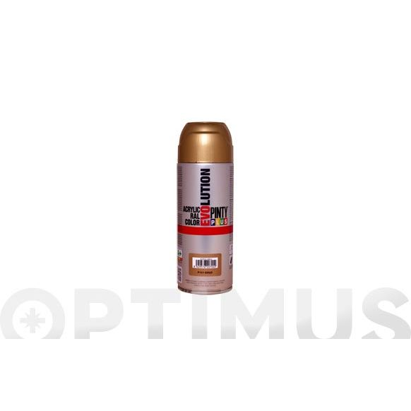 PINTURA ACRILICA BRILLO SPRAY 520 CC EV151 ORO