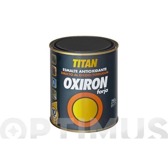 PINTURA METALICA OXIRON 375ml-GRIS ACERO