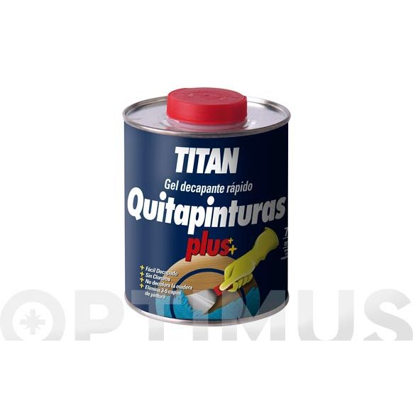 QUITAPINTURAS TITAN 05D-375ml