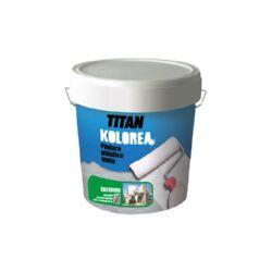 PINTURA PLASTICA BLANCA EXT. 12Kg DECOR COFAC